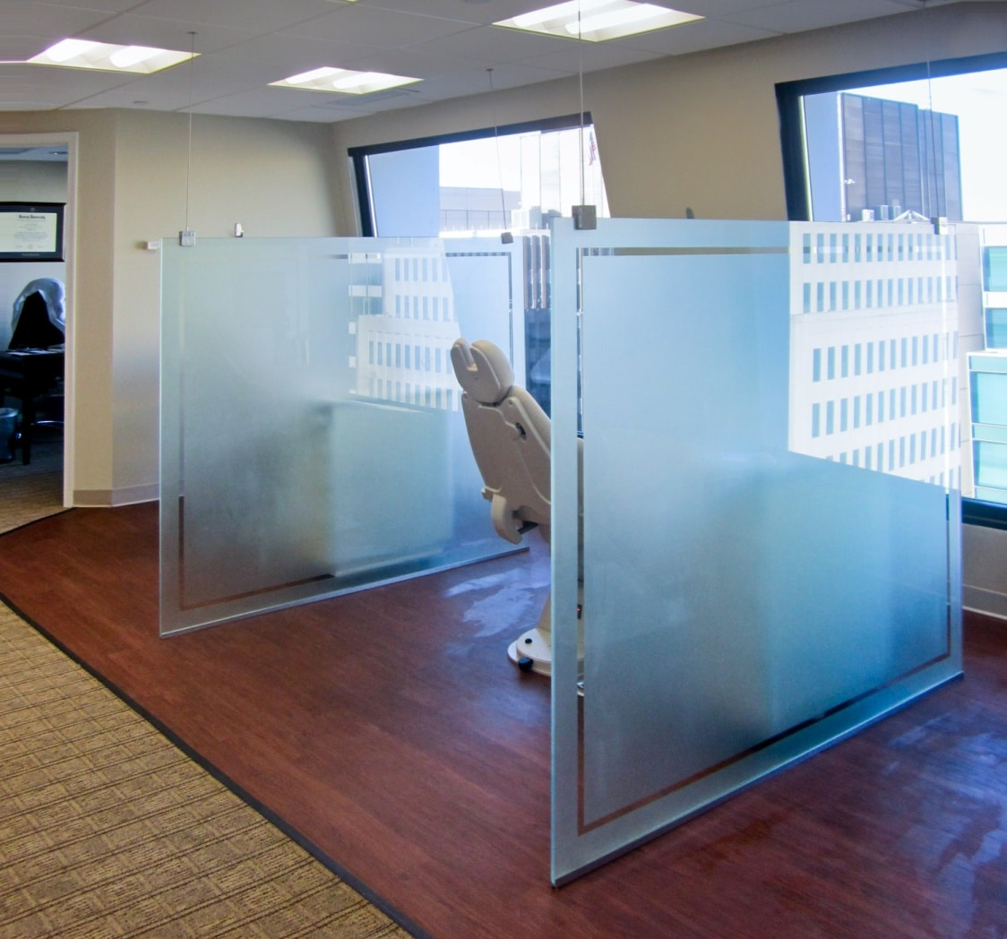 Glass Office Dividers