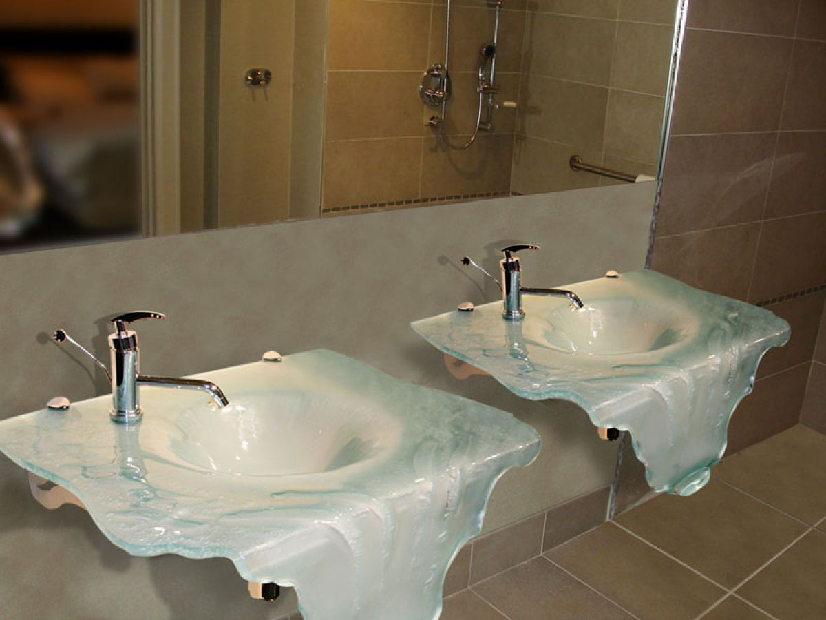Sink Glass Harbor All Glass Amp Mirror Inc