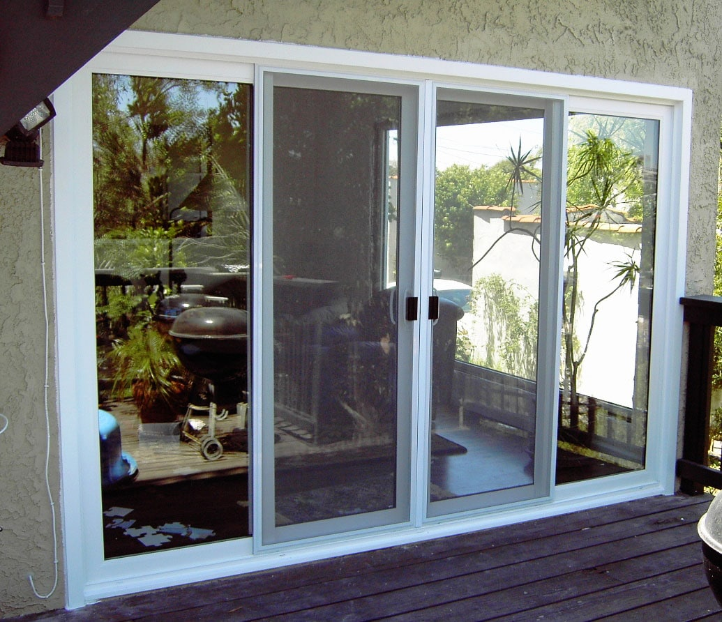 Patio glass doors harbor all glass mirror inc for Outside doors with glass