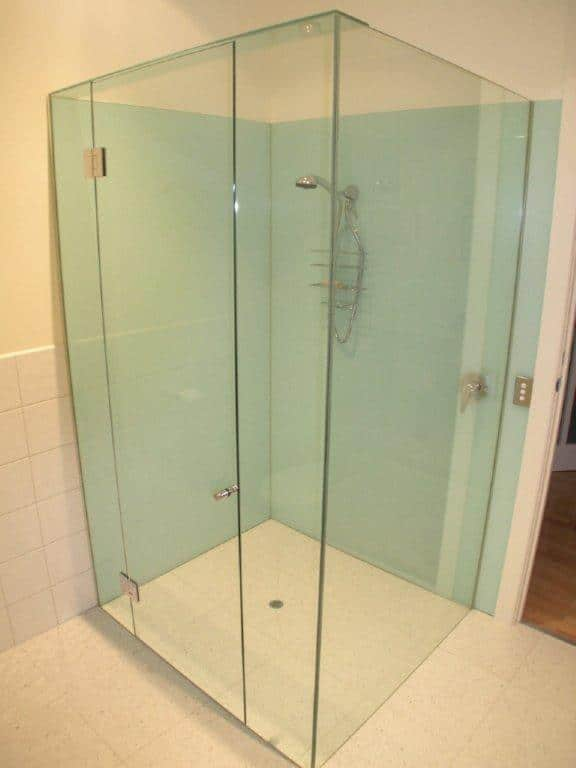 Orange county glass company harbor all glass mirror for All glass shower